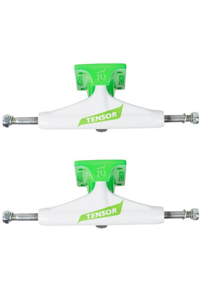 "Tensor Flick Aluminium TENs 5.25"" Regular Achse (white toxic green) 2er Pack"