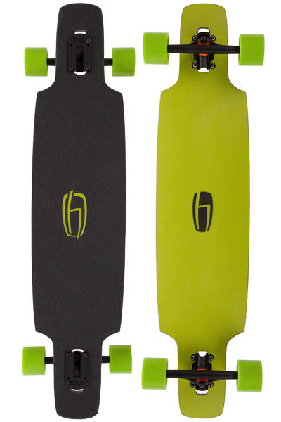 "Olson&Hekmati dd100 Basic 39.4"" (100cm) Complete-Longboard (lime)"
