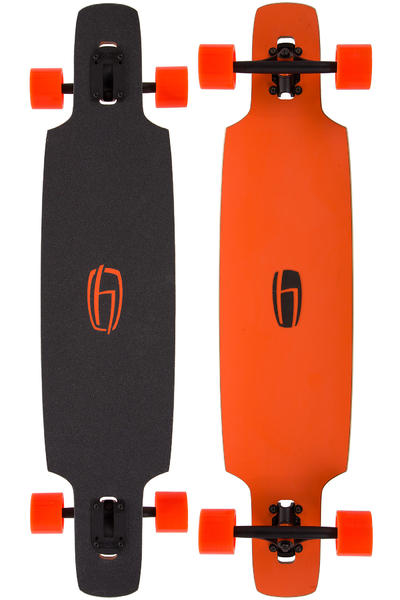 "Olson&Hekmati dd100 Basic 39.4"" (100cm) Komplett-Longboard (orange)"
