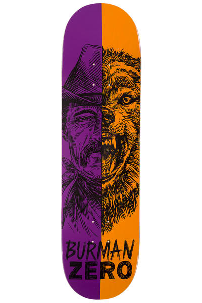 "Zero Burman Alter Ego 8.5"" Deck (purple orange)"