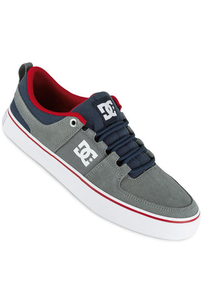 DC Lynx Vulc Shoe (grey dark navy)