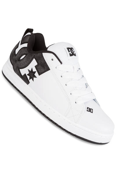 DC Court Graffik SE Shoe (white grey black)