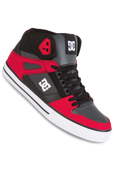 DC Spartan High WC Shoe (red grey black)
