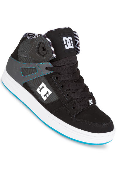 DC Rebound KB Shoe kids (black white blue)