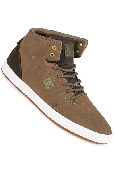 DC Crisis High Shoe (brown dark olive)