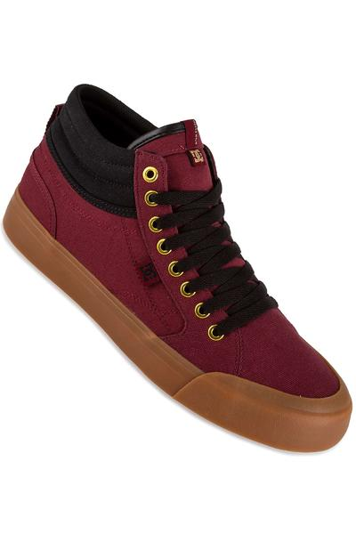 DC Evan Smith Hi Shoe (burgundy)