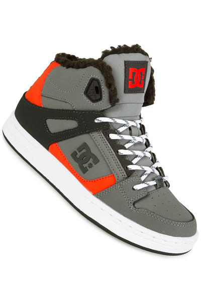 DC Rebound WNT Shoe kids (grey black orange)