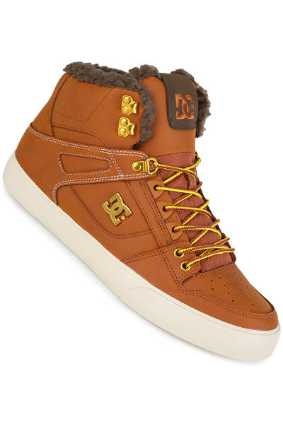 DC Spartan High WC WNT Schuh (burnt henna white)