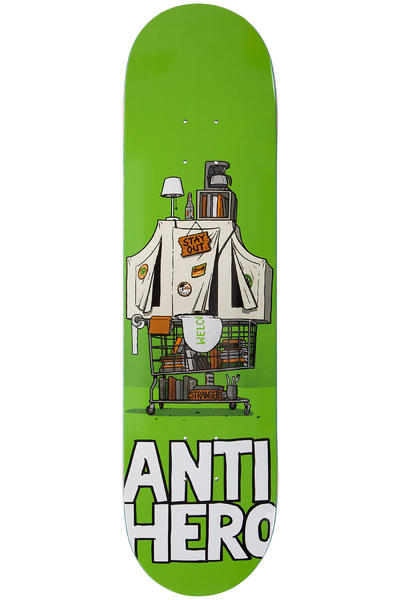 "Anti Hero Stranger Hoarder Hero 8.18"" Deck"
