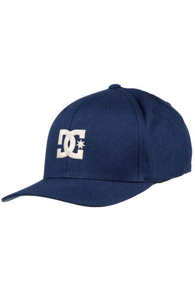 DC Cap Star 2 FlexFit Cap (varsity blue white)