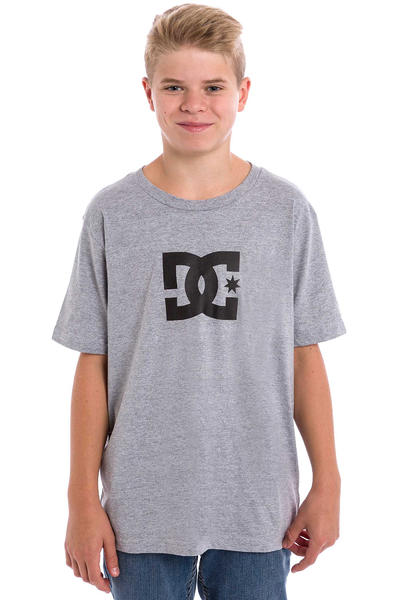 DC Star T-Shirt kids (heather grey)