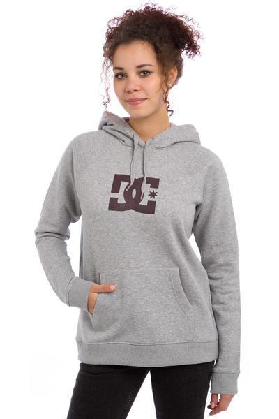DC Star Hoodie women (heather grey)