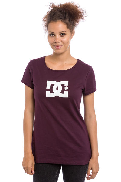 DC Star T-Shirt women (winetasting)