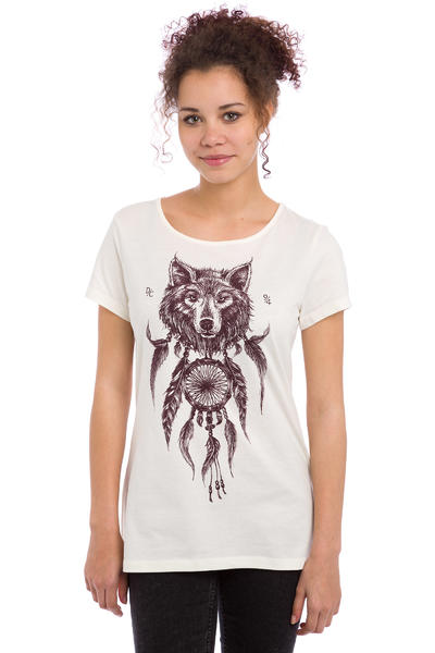 DC Nite Wolf T-Shirt women (antique white)