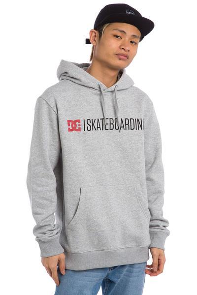 DC Minimal Hoodie (heather grey)