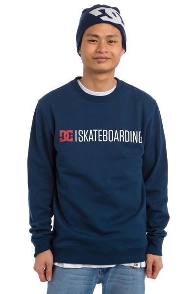 DC Minimal Sweatshirt (varsity blue)