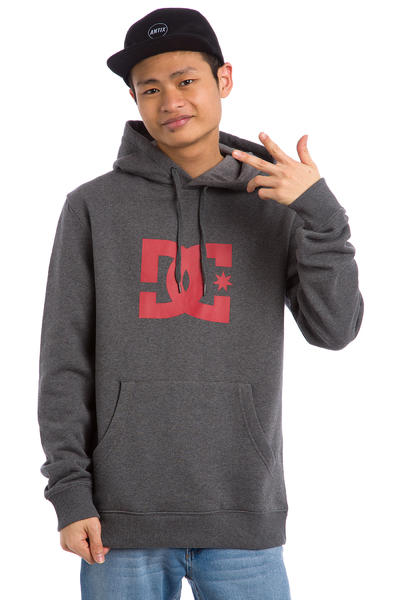 DC Star Hoodie (heather charcoal)