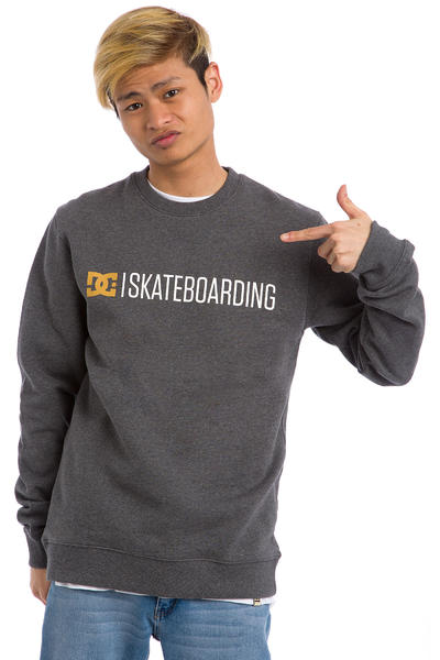 DC Minimal Sweatshirt (heather charcoal)