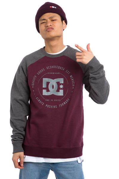 DC Rebuilt 2 Raglan Sweatshirt (winetasting)