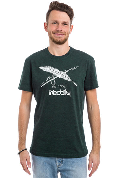 Iriedaily Harpoon Flag T-Shirt (deep lake)