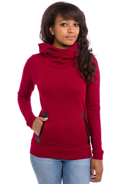 Iriedaily Turtle Space Hoodie women (dark red melange)