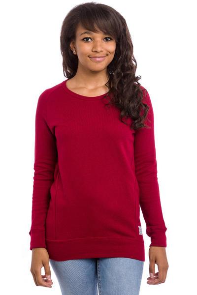 Iriedaily Jazzie Space Sweatshirt women (dark red melange)