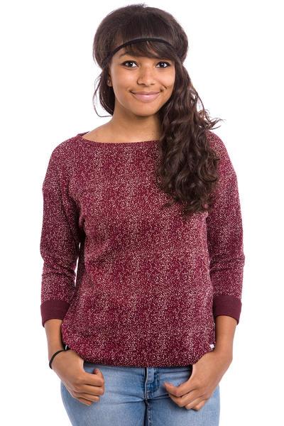 Iriedaily Blizzy French Sweatshirt women (maroon melange)