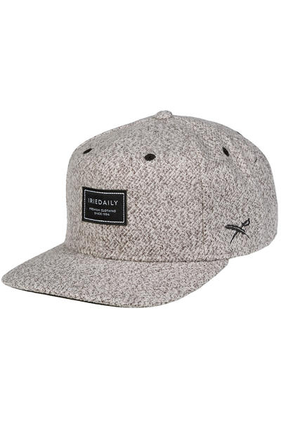 Iriedaily Lug Snapback Cap (grey melange)