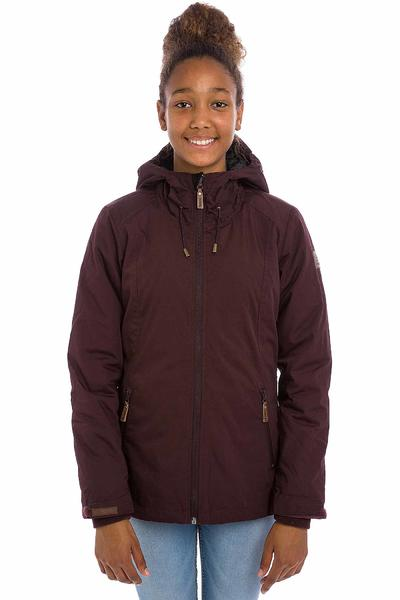 Iriedaily Kishory Segler Jacket women (red wine)