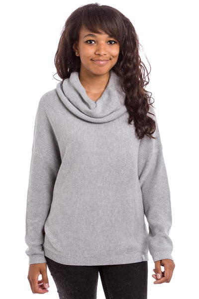 Iriedaily Mock Turtle Sweatshirt women (grey melange)