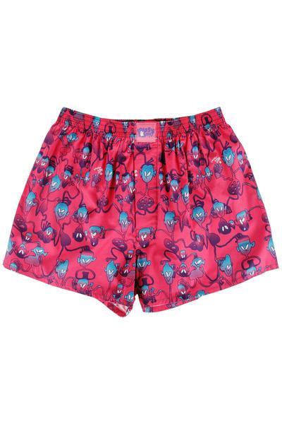 Lousy Livin Underwear Aliens Boxershorts (cranberry)
