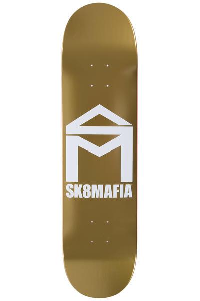 """Sk8Mafia House Logo 8"""" Planche Skate (gold)"""