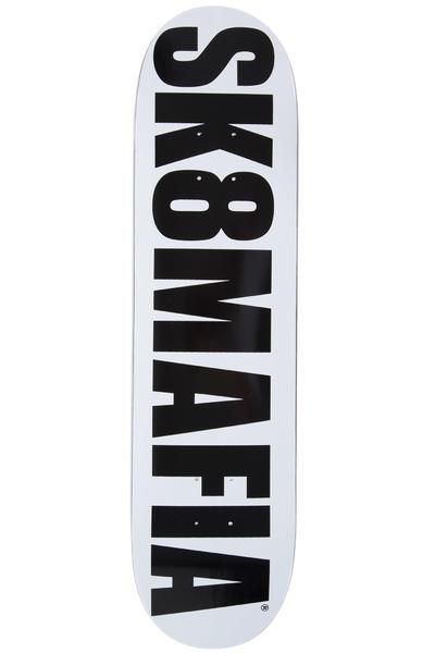 "Sk8Mafia OG Logo 7.875"" Planche Skate (white black)"