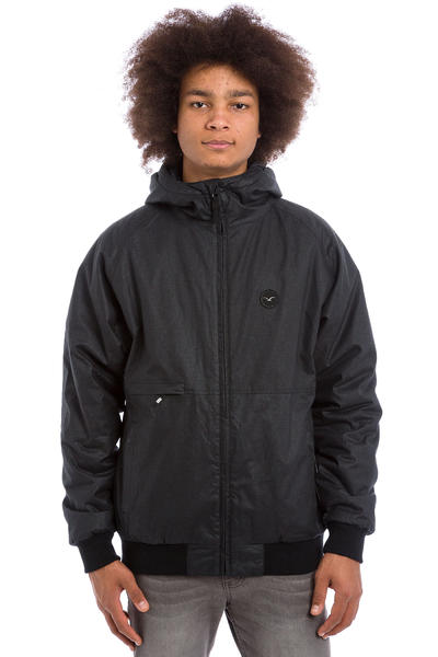 Cleptomanicx Polarzipper Hemp 2 Jacket (black)