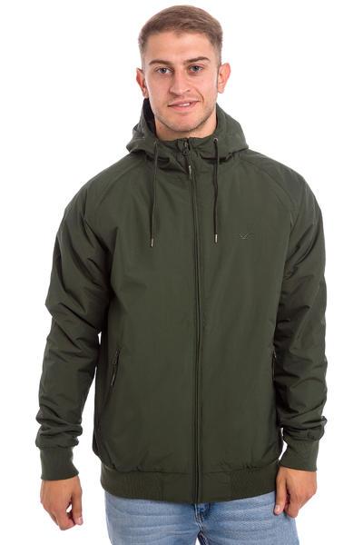 Cleptomanicx Simplist Jacket (dark olive)