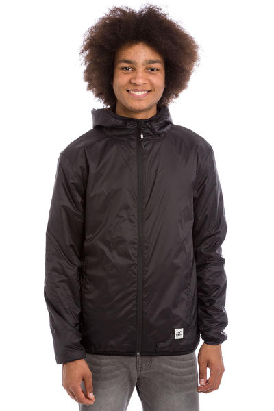 Cleptomanicx Layericx Jacke (black)