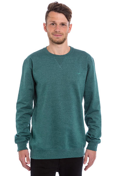 Cleptomanicx Ligull 2 Sweatshirt (heather deep teal)