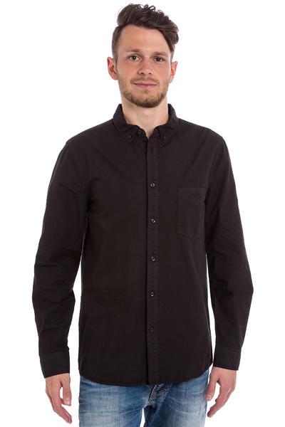 Cleptomanicx Möwe Hemd (black)