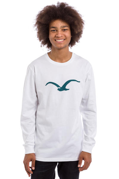 Cleptomanicx Möwe Longues Manches (white)