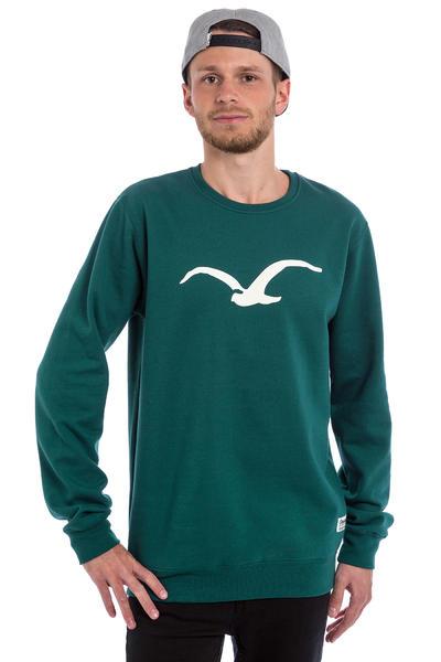 Cleptomanicx Möwe Sweatshirt (deep teal)