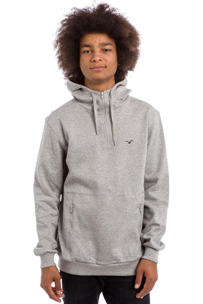 Cleptomanicx Tech Hoodie (heather grey)