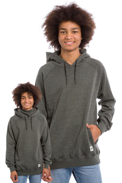 Cleptomanicx Jonin Hoodie (heather dark grey)