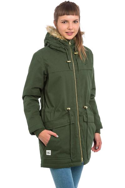 Cleptomanicx Parka Jacket women (dark olive)