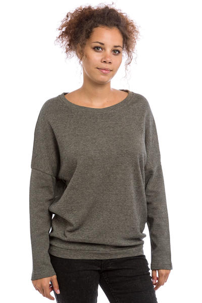 Cleptomanicx Henni Sweatshirt women (pirate black)