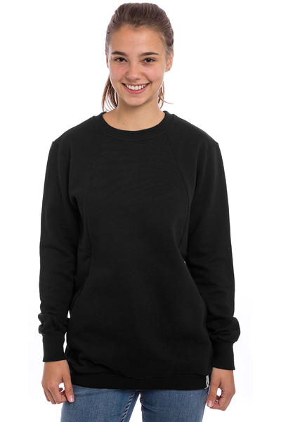Cleptomanicx Organicx Sweatshirt women (black)