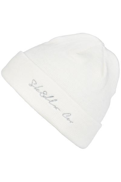 SK8DLX Script Co. Bonnet (white)