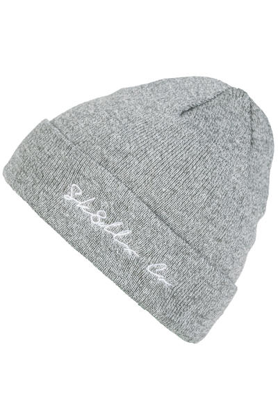 SK8DLX Script Co. Gorro (heather grey)