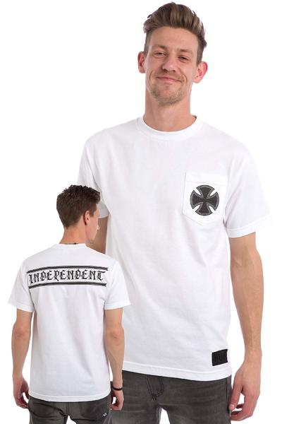 Independent AVE Cross Pocket T-Shirt (white)