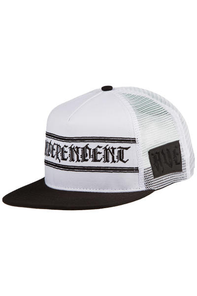 Independent AVE Cross Trucker Cap (white black)