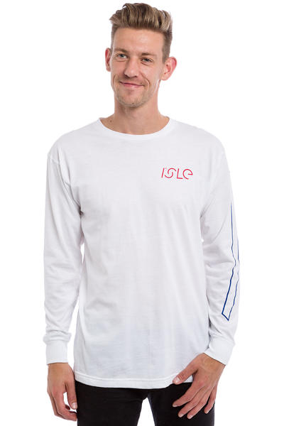 Isle Skateboards I Logo Longsleeve (white)
